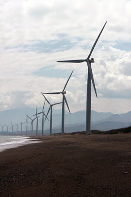 Wind Mills in the Philippines