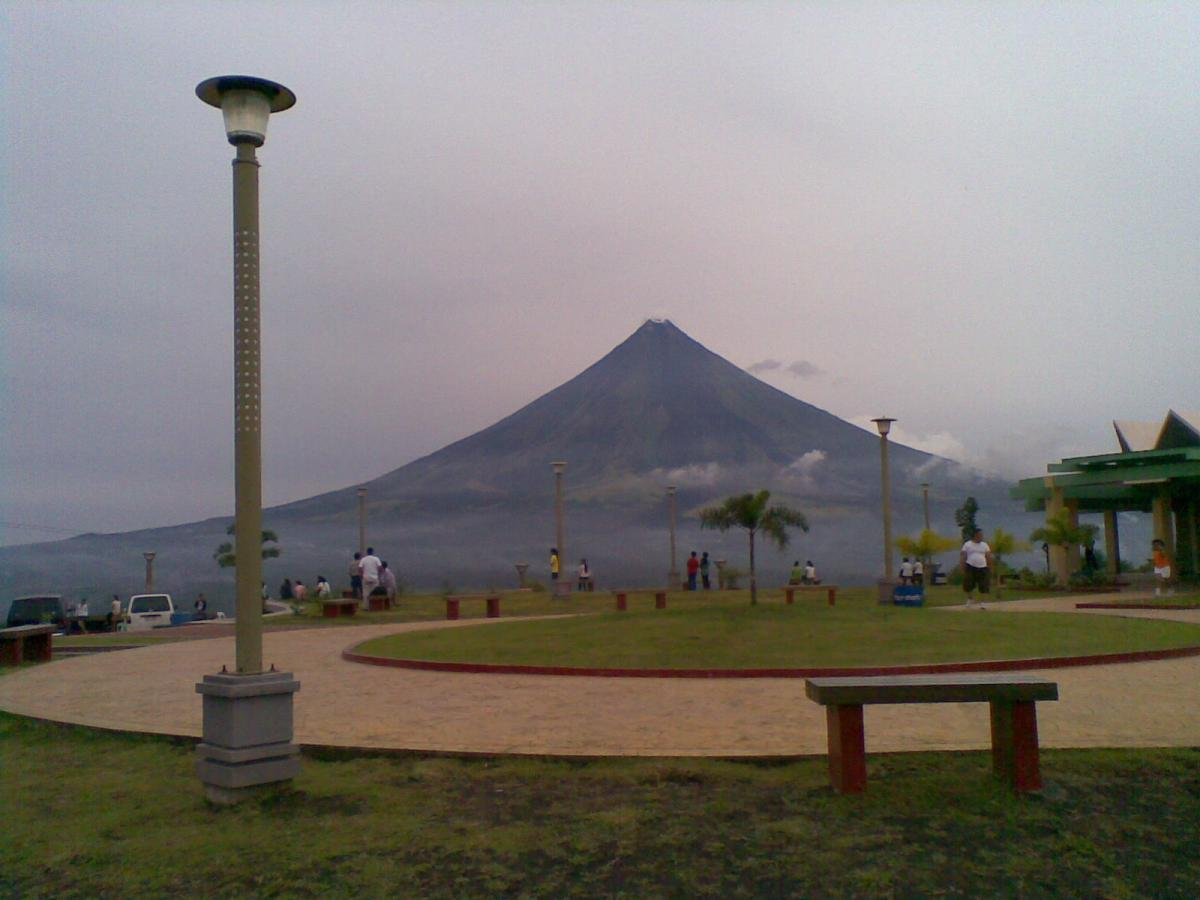 View of Mayon from Lignon Hills