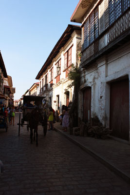Old Spanish Houses in Vigan